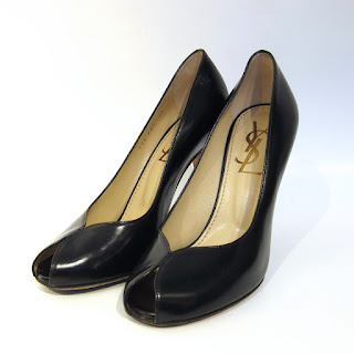 YSL Peep Toe Pumps