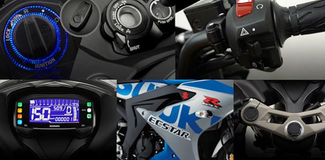 Warna dan Spesifikasi GSX R150 2021, Pilihan Warna Barunya Boleh Juga !