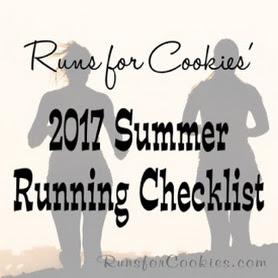 2017 Running Checklist