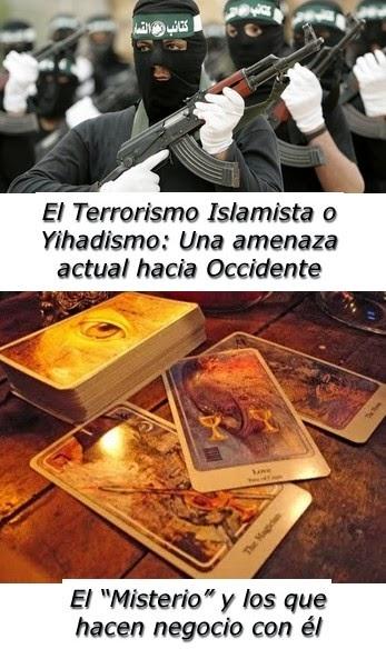 El terrorismo islamista o Yihadismo: una amenaza actual para Occidente, y El Misterio y los que hacen negocio con él - MADLR 11x4 - 21.1.2015