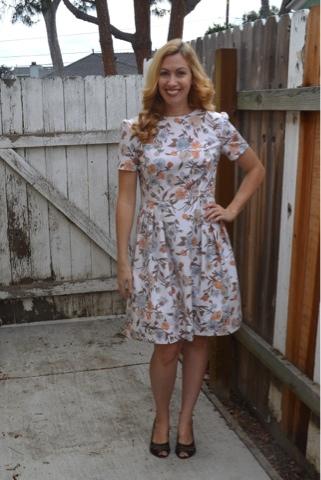 Modern Handmade Vintage Style Garden Party Dress