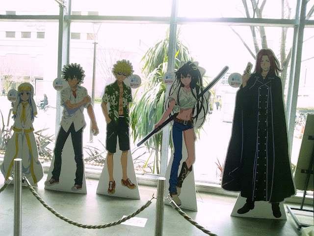 【東京旅行】立川「とある魔術の禁書目録」の舞台散策