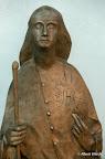 Bamberg, Congregatio Jesu. Mary Ward, Bronze Detail 1996