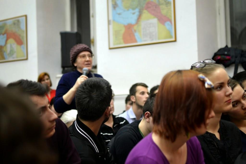 Conferinta Despre martiri cu Dan Puric, FTOUB 116