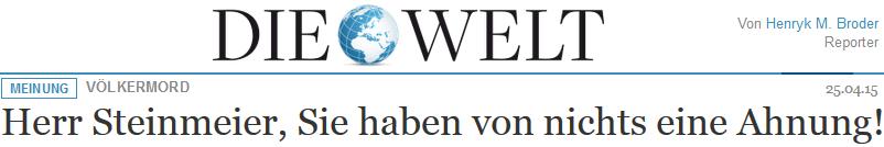 Herr Steinmeier, Sie haben von nichts eine Ahnung!