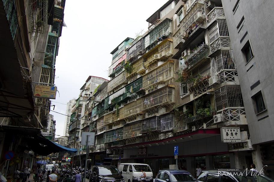 香港已難得一見的鐵籠騎樓