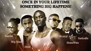 Akon ft Sarkodie - Once in your Life X Big Sean x face, Shatta Wale, Samini & Wizkid (Download Mp3]