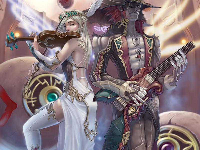 Elven Musicians, Elven Girls 2