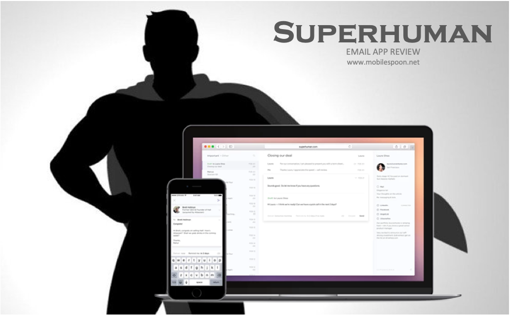 Superhuman email app review - the mobile spoon