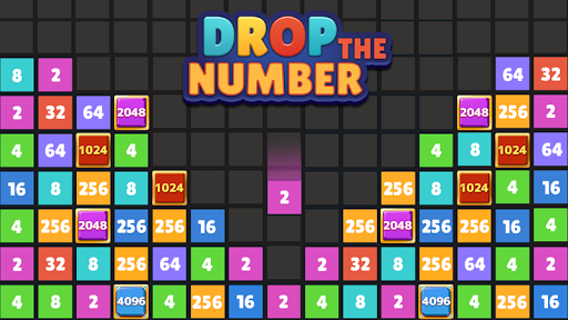 Drop the Number - Merge Game - screenshot