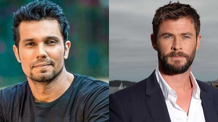 Randeep hooda ne 'apna chhora chris hemsworth' ko vote karne ki fans ki guzarish