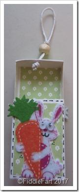 Easter Bunny Matchbox Favour.