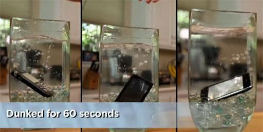 Jika Handphone terkena air