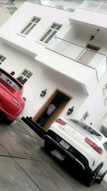 Davido shows off his new Porsche 911 car