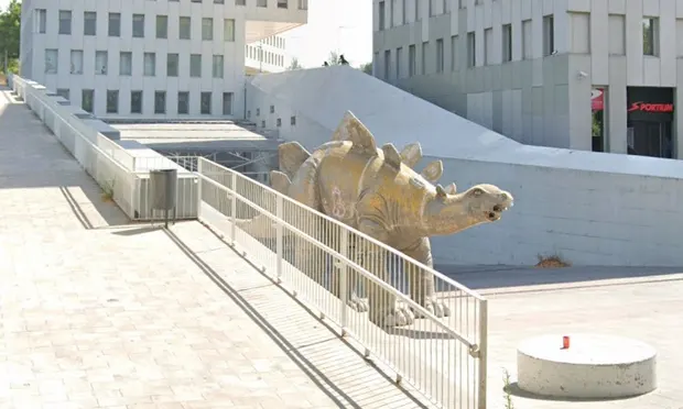 stegosaurus, Barcelona