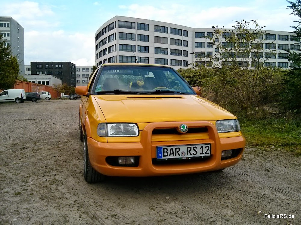Noch ein paar Bilder bei Tageslicht Škoda Felicia Fun
