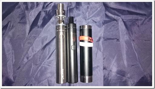 DSC 1758 thumb2 - 【MOD】トップスライドフィルが便利なSMOKのスターター!「SMOK Stick One Basicスターターキット」【eGo AIO対抗】