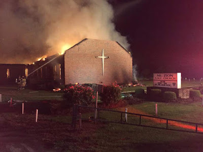 Liberal MoveOn.org seeks to make money over fears of church fires