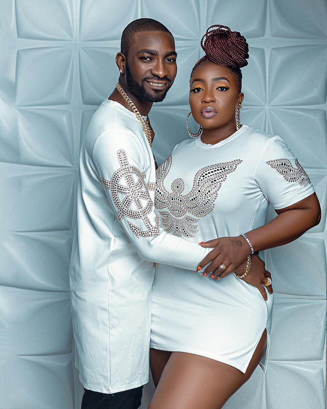 Sit down You no dey go anywhere - Anita Joseph's husband hilariously reacts to her asking if she can go for BBNaija