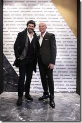 Zita Fabiani Grand Opening_Pierfrancesco Favino e Gianni Colasanti