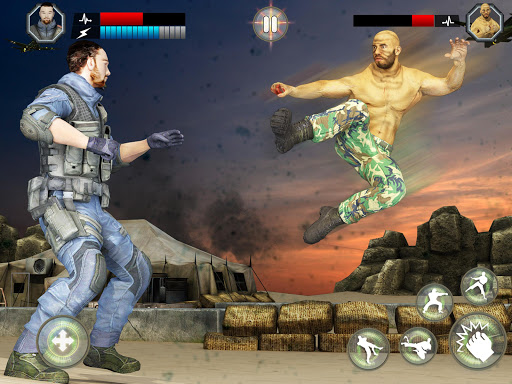 Army Battlefield Fighting: Kung Fu Karate apkpoly screenshots 10