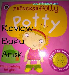 Review Buku Anak: Princess Polly Potty
