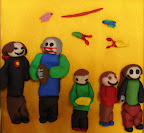 Clay Family by Dylan