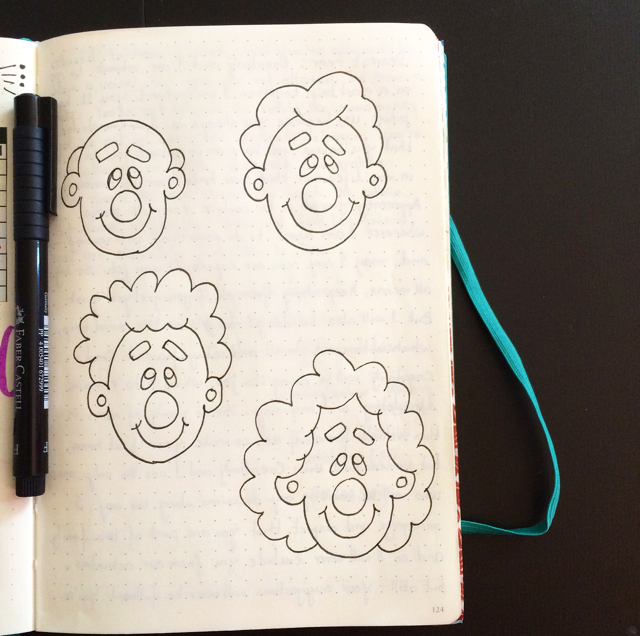 #100DaysOfDoodles | Day 65 | How to Draw Cartoon Faces I | The 100 Day Project