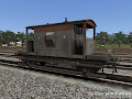 CAR Brake Van for RailWorks: A dia 1/507 van in worn Railfreight livery.