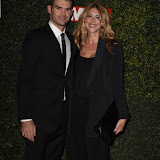 OIC - ENTSIMAGES.COM - James Anderson and wife Daniella Anderson at the  Daily Mirror Pride of Sport Awards  London 25th November 2015 Photo Mobis Photos/OIC 0203 174 1069