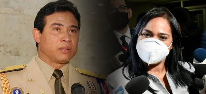 Jueza envía a cárcel de Najayo al mayor general Adan Cáceres y a la pastora Rossy Guzmán