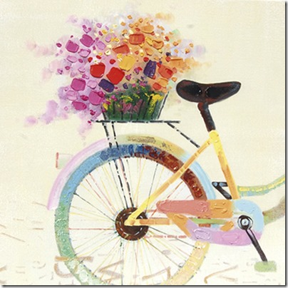 imágenes de bicicletas con flores (19)