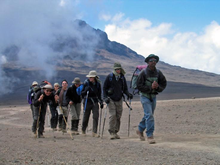 Hiking Kilimanjaro Rongai
