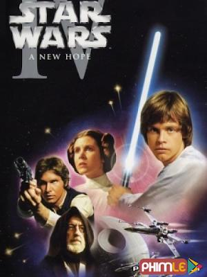Phim Chiến Tranh Giữa Các Vì Sao 4 - Star War 4 (1977)