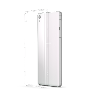 Transparent Cover Xperia XA Back40 White.png