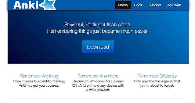 Programa flashcard com centenas de baralhos