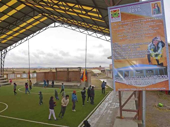 Villandrani: comunidad del Distrito 9 de El Alto
