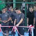 Pangdam Jaya Resmikan Hasil Renovasi Lapangan Tenis Gagak Hitam Batalyon Arhanud 10/ABC/1/F Kodam Jaya