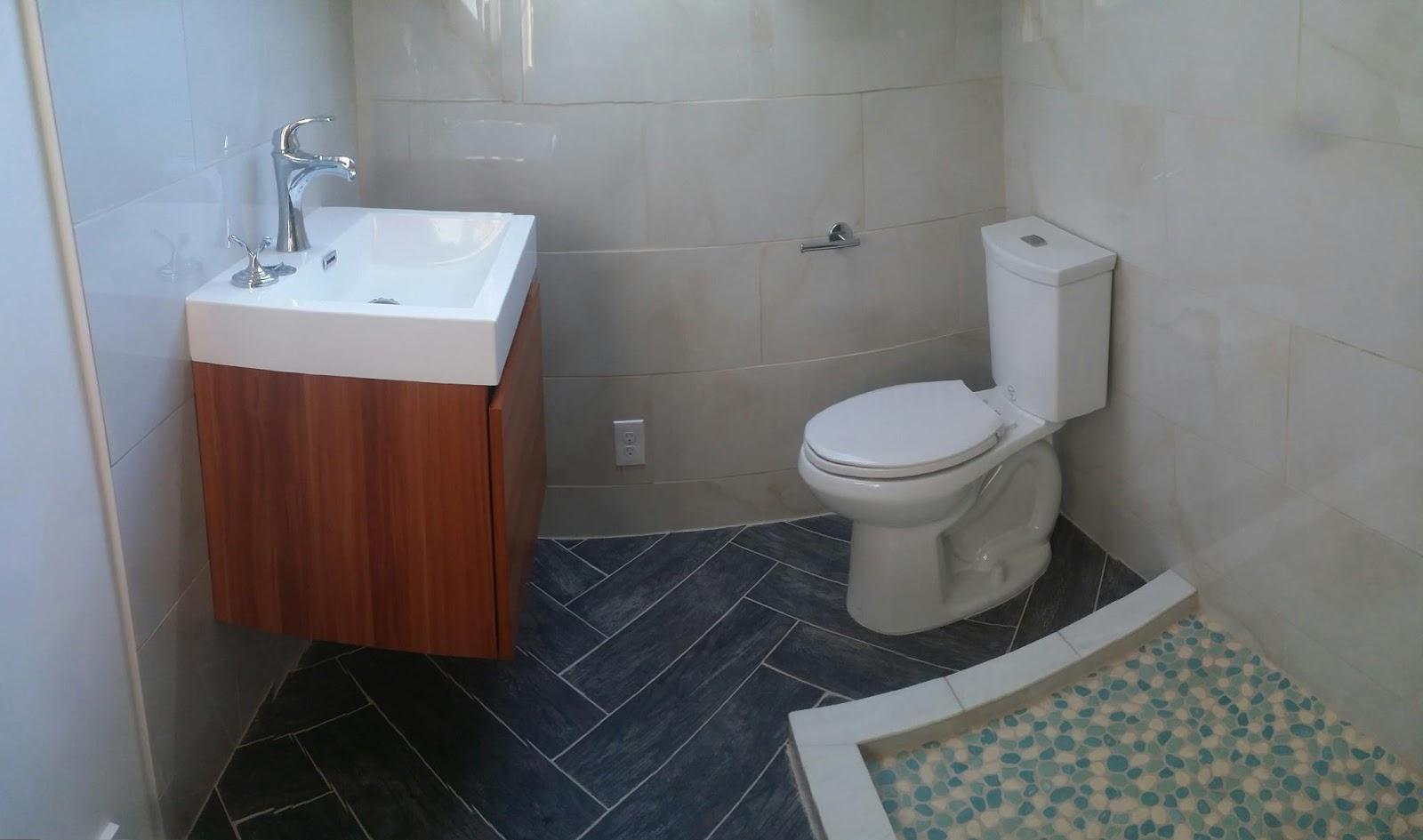 Recent work bathroom redo for Redo your bathroom