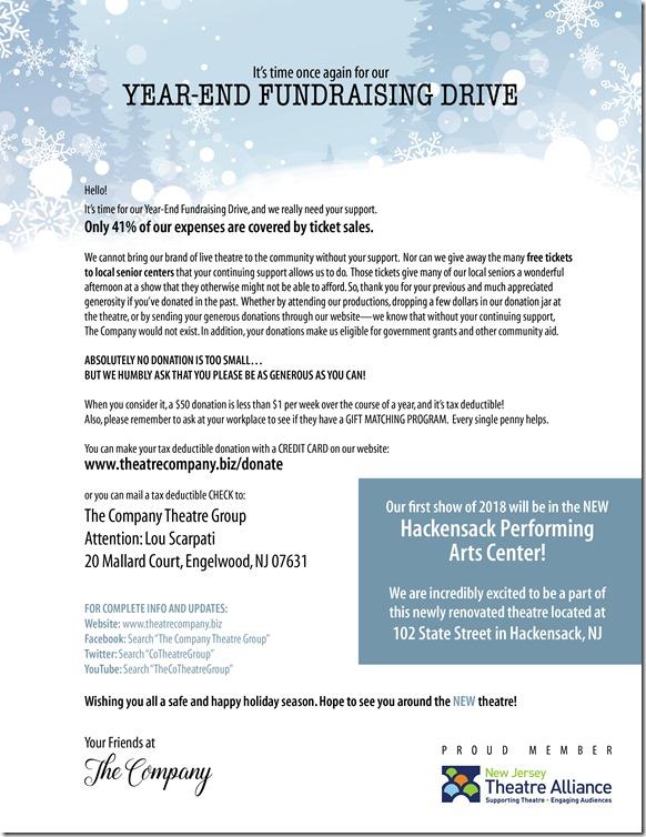 Fund Raising Letter-YearEnd 2017