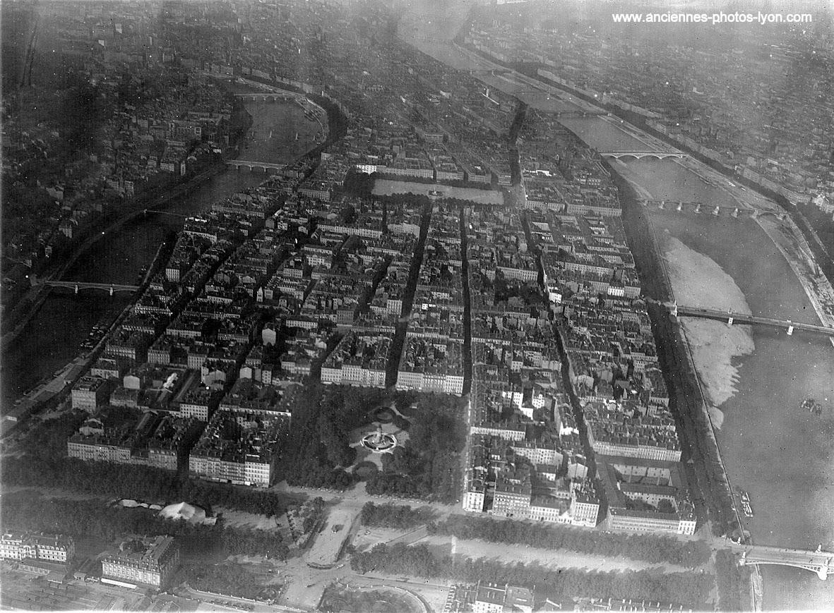 Vue aériennes du Stade de Gerland