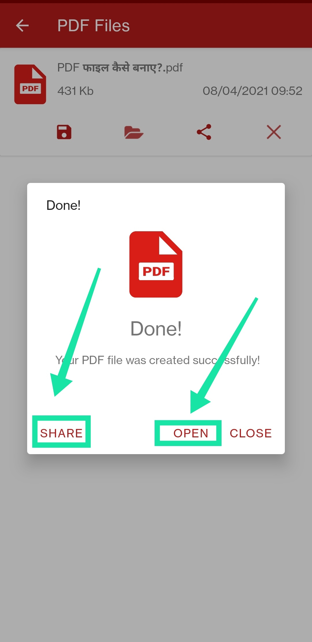 PDF File View And Share