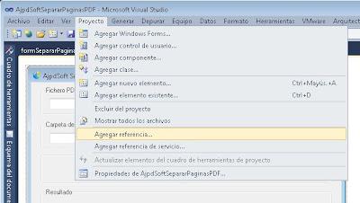 Separar páginas PDF con C# C Sharp y PDFsharp