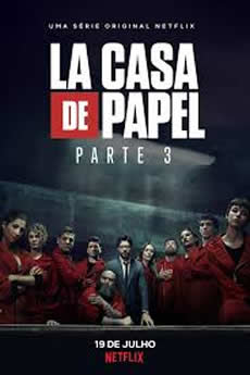 Capa La casa de papel 3ª Temporada Torrent