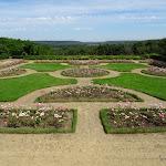 Château Saint-Jean de Beauregard : jardin occidental