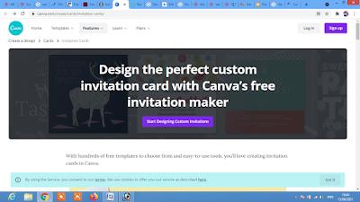 Free online invitation templates   canva