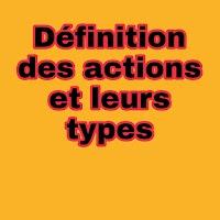 Définition et les différents types des actions selon leur comportement boursier