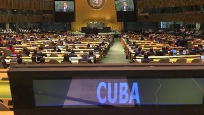 Cuba reafirma su apoyo al derecho del pueblo saharaui a la autodeterminación y la independencia.