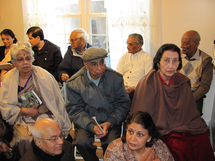 Some of the devotees in attendance