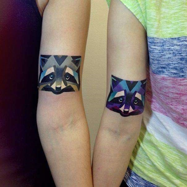 geomtricas_animal_casal_braço_tatuagens